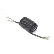 Chicote Aspiral Eletrico 5.5mts Carretas em Geral 7Fios