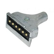 Engate Macho Tomada Elétrica Aluminio  Conexão original  06 Polos