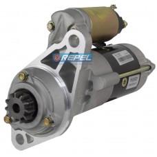 Motor Partida Isuzu 24V 11D Caminhao GMC 7110 Caminhao Isuzu NKS58 NKR66 NPR400 Motor 4BE1 Caminhoes  ELF