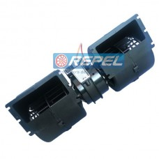 Eletroventilador Interno 24V Duplo Caterpillar New Holland Case (Ventilador Radial Duplo Interno)