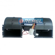 Eletroventilador Interno 12V Duplo Caterpillar New Holland Case (Ventilador Radial Duplo Interno)