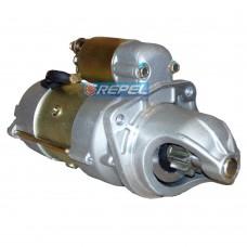 Motor Partida M100R 24V Caminhao MBB 1418 1621 1618 1214 1217 L1317 L1414 L1517 L1614 OH1113 OH1313 OH1318 OH1621 (Substitui o JF 24V)