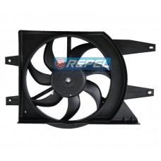 Motor Eletroventilador Com Defletor Uno Fiorino Palio 1.0 8V 2001 a 2011 Fire
