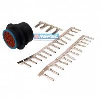 Conector Eletrico Case 84807216 CNH 84807216