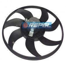 Eletroventilador (Ventoinha) Radiador Corsa 1.0 2003 a 2008 Sem AR 334MM 7PAS