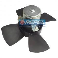 Eletroventilador (Ventoinha) Radiador Corsa 1994 a 2003 1.0 1.4 1.6  Com AR e Sem AR 278MM 4Pás
