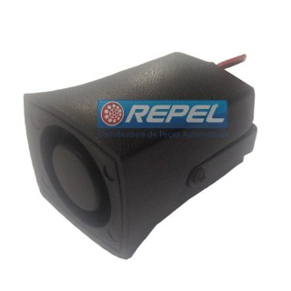 Sirene Eletronica Re 12V Pequena Universal Tamanho 5,8 x 4,3 x 3,8 cm