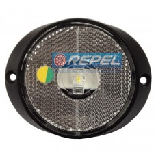 Lanterna Led Cristal Frontal e Lateral Carreta Randon Implementos Rodoviários