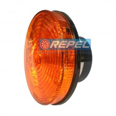 Lanterna Traseira LED Bivolt Amarela Carretas e Implementos Randon