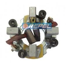Porta Escova Partida  Mitsubishi MBB Axor 3340 3344 2540 2544 4040 4044 2640 2644 Actros (Com 2 Escovas )