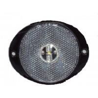 Lanterna Frontal Oval Led Cristal Carreta Randon 2010> Implementos Rodoviarios 2011