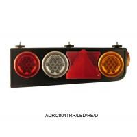 Conjunto Lanterna Traseira LED Carreta Randon C/triangulo Lado Direito