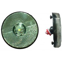 Lanterna Lateral LED 12/24V Cristal Carreta Randon 2010> e Adaptacoes