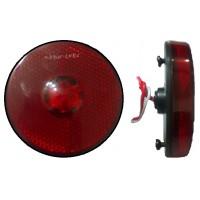 Lanterna Lateral LED 12/24V Vermelha Carreta Randon 2010> e Adaptacoes